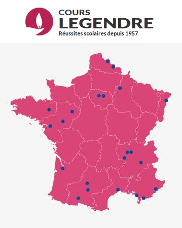 Beijing Cursus partout en France avec les Cours Legendre !