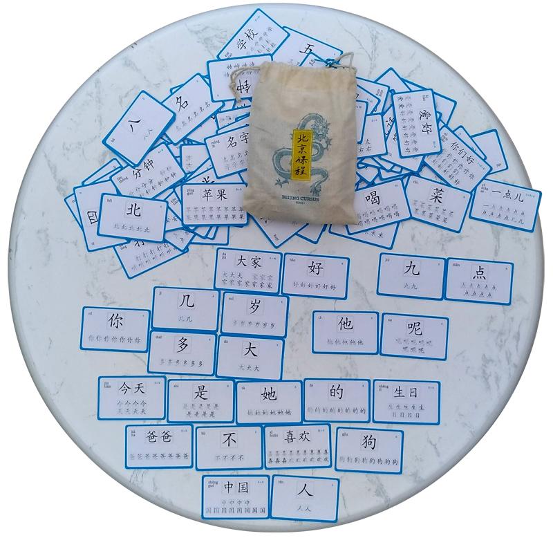 Des flashcards / ludocartes pour apprendre le chinois en s'amusant !
